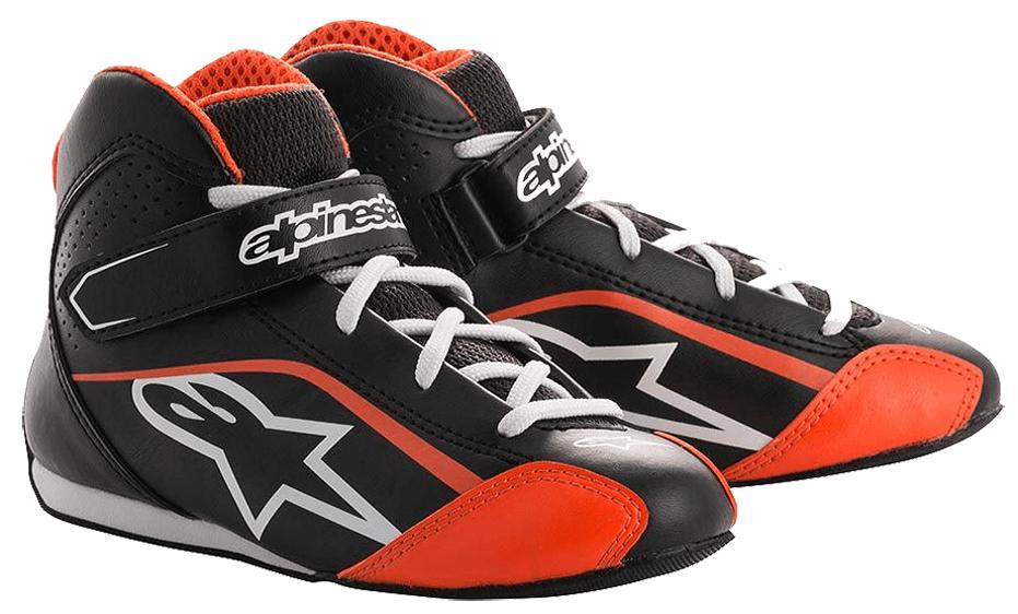botas alp-tech-k-s negra-naranja-2