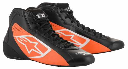 botas alp-tech-k-start negro-naranja-2