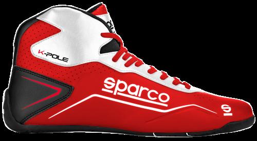 botas-Sparco-k-pole-rojo-blanco