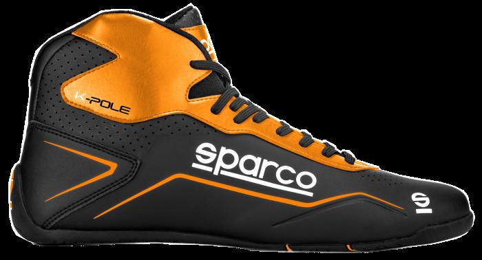 botas-Sparco-k-pole-negro-naranja