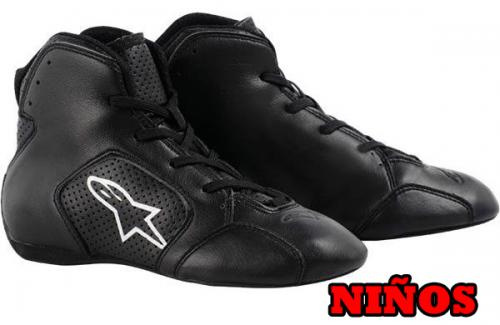 calzado-alpinestars-tech-1-ks-infantil-negro